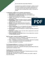 Desarrollo Emprendedor Modulo 3