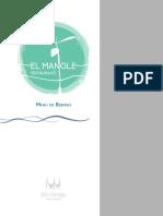 Menú BEBIDAS-ESPAÑOL para imprimir