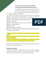 Modelo Novo Revista Ambiental - Revista Brasileira de Gestão Ambiental