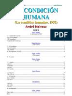 Andre Malraux-La condición humana