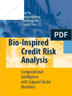 334 Bio-Inspired Credit Risk Analysis Computational Intelligence With Support Vector Machines