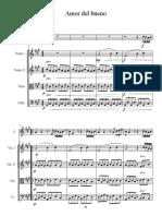 Amor Del Bueno - Score