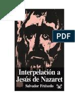 interpelacion a Jesus de Nazaret