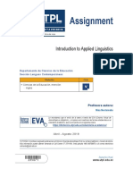Introduction to Applied Linguistics - Assignment.pdf