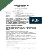 Manual Forma S