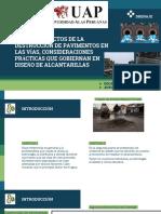 Causas y efectos del mal drenaje, consideraciones que se toman en cuenta para diseñar alcantarillas PERÚ.