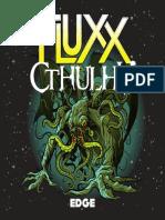 Reglamento Fluxx Cthulhu