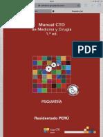 Manual CTO Perú Urología 1°ed 2018