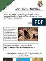Mejoramiento y Recursos Fitogenéticos