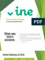 presentation- vine
