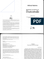 BAKHTIN, Mikhail. Problemas da Poética de Dostoievski.pdf