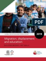 Migration, Displacement and Education; Building Bridges, Not Walls
