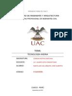 Tecnología Andina - Andenes
