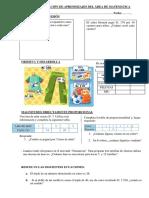 Evaluacion Matema 20 de Noviembre