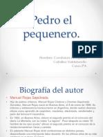 Pedro El Pequenero CATA Y CONI