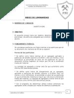 Lab-12 INDICE DE LAMINARIDAD