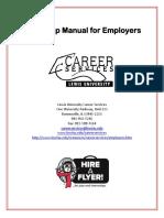 Employer Internship Manual
