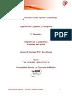 U3.Normas ISO y Seis Sigma