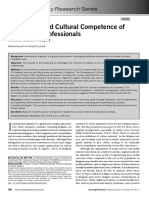 Leadership and Cultural Competence