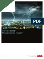 Gamme Paratonnerres Pulsar 09 2011