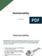 Maintainability