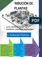 Distribución de Plantas
