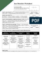 Acid Base Worksheet