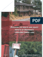 Assessing the Health & Equity Impacts of Arkansas Landlord Tenant Laws