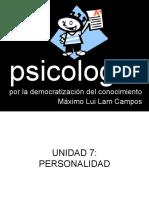 Psicologia Semana 010 Y 011 AUTOESTIMA
