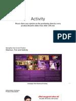 Activity Positioning