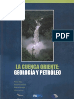 La Cuenca Oriente, Geología y Petróleo