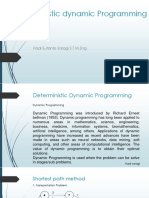 Deterministic Dynamic Programming (1)