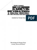 FERRO, Marc, Bolshevik Revolution - A Social History of the Russian Revolution