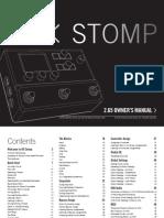 Line 6 - HX Stomp Manual - English