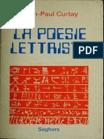 Curtay Jean-Paul La Poesie Lettriste