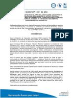 Decreto 0841 2014 Valores Absolutos 2015