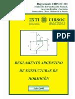 Hormigon Masivo Reglamento CIRSOC 201