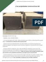 El Grafeno Refuerza Las Propiedades Constructivas Del Hormigón