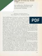 Jan Assmann - Frühe Formen Politischer Mythomotorik 1992