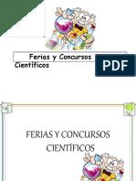 presentacionferiasyconcursoscientifico-140809192358-phpapp02