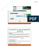 Excel Intermedio CIV