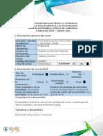 Guía de Actividades y Rubrica de Evaluación - Reto 5 - Emprendimiento Social e Innovación