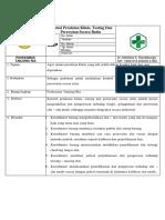 8.6.2.b SPO Kontrol Peralatan, Testing Dan Perawatan Secara Rutin