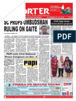 Bikol Reporter November 18 - 24, 2018 Issue