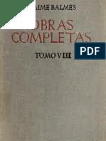 Jaime Balmes Tomo 8.pdf