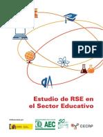 Estudio de RSE en El Sector Educativo
