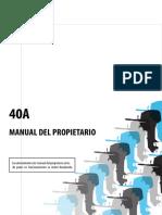 40HP Manual de Usuario