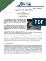 Compensadores Sincrónicos - Diego Checa