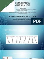 Biomechanics - Gait Analysis