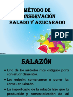 Metodo de Conservacion (Salado y Azucarado)